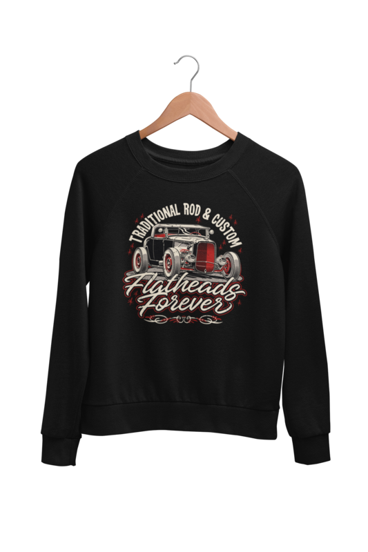 FLATHEADS FOREVER SWEATSHIRT UNISEX by BY Ger