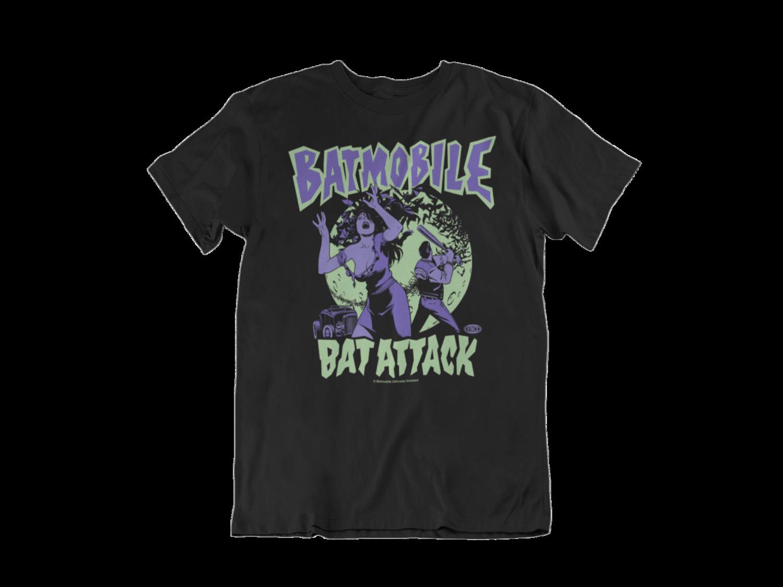 """BATMOBILE """"Bat Attack"""" tshirt for MEN"""