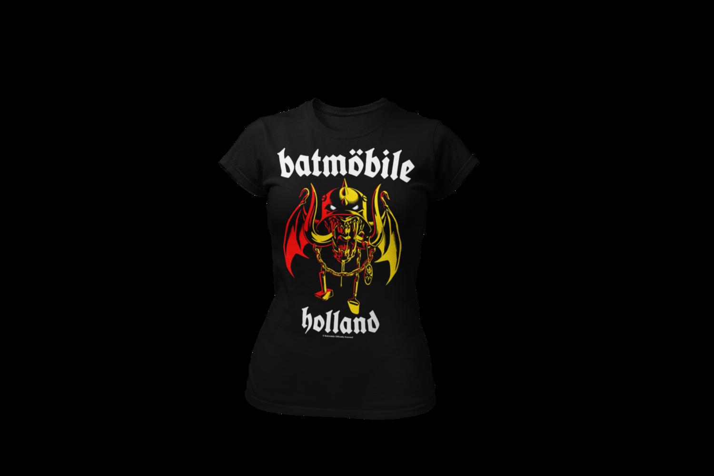 "BATMOBILE ""Batmohead""  tshirt for WOMEN"