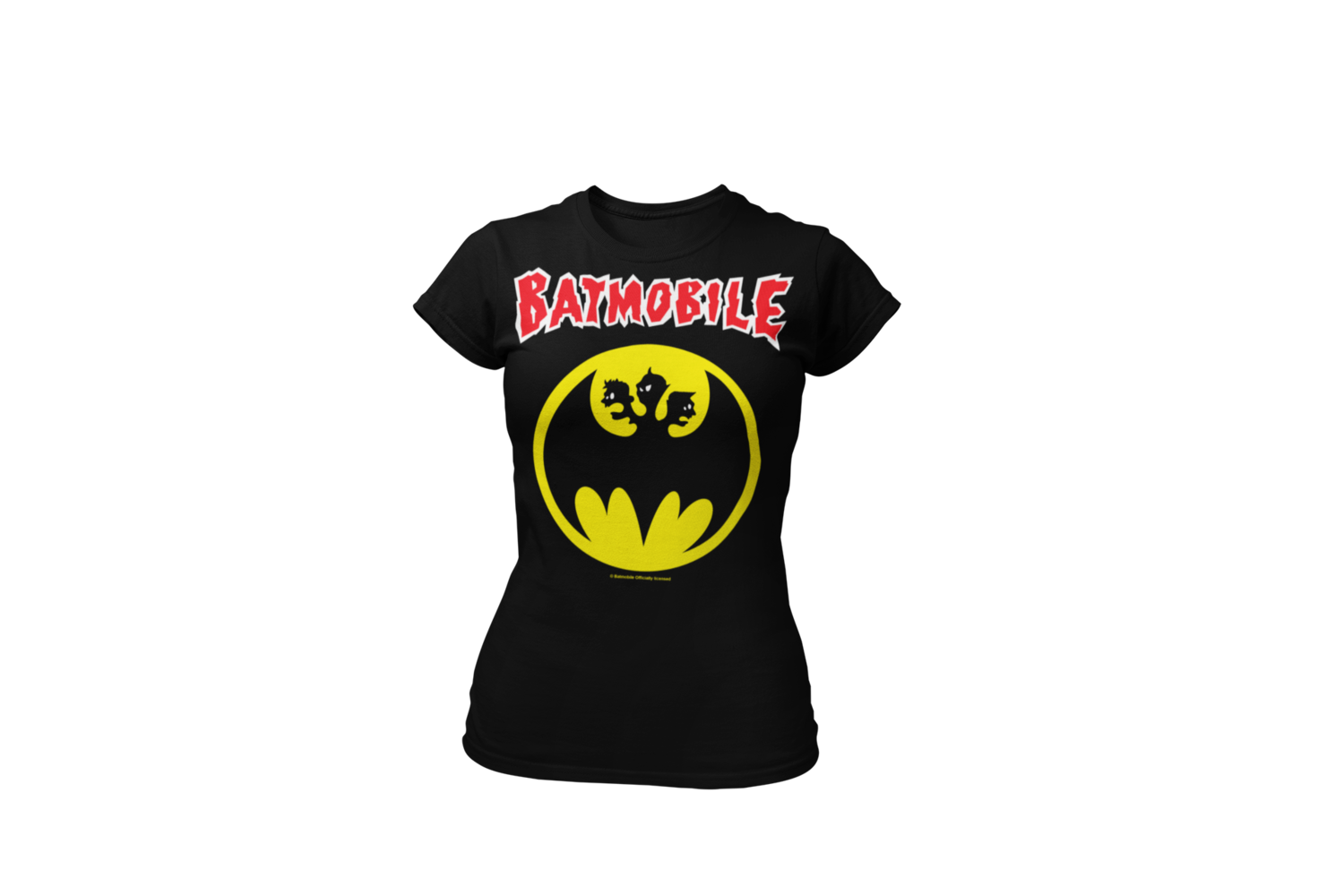 "BATMOBILE ""BATMOLOGO""  tshirt for WOMEN"