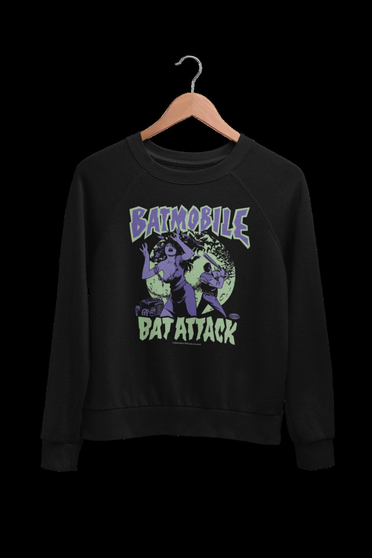 "BATMOBILE SWEATSHIRT ""Bat attack"" UNISEX"