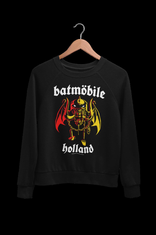 "BATMOBILE SWEATSHIRT ""Batmo Head"" UNISEX"