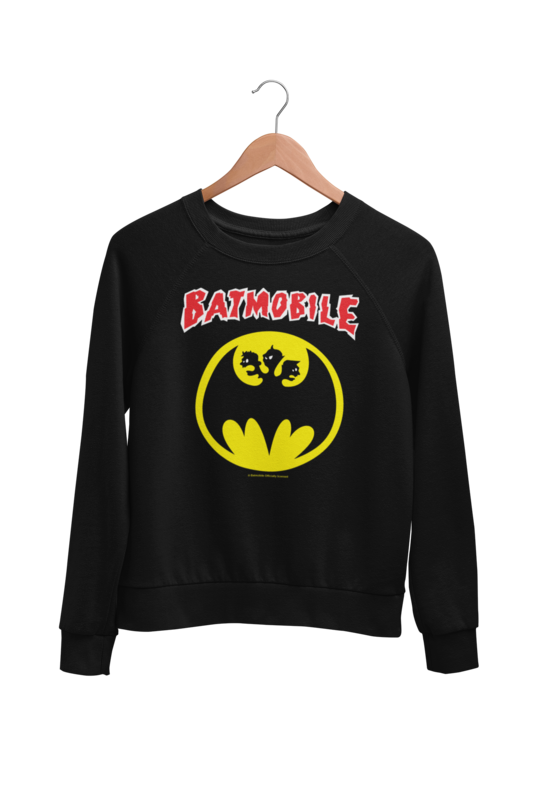 "BATMOBILE SWEATSHIRT ""Batmo Logo"" UNISEX"