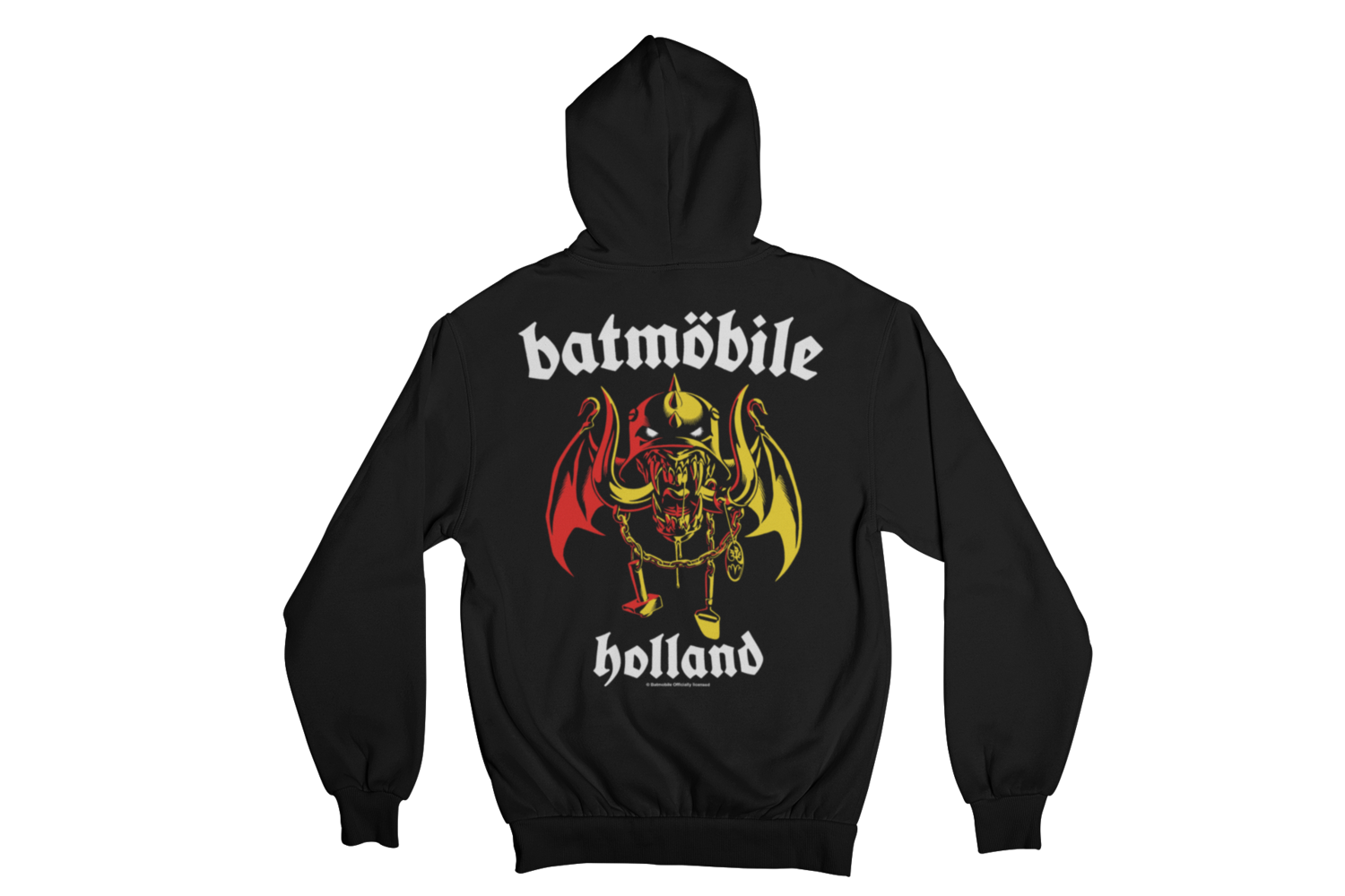 "BATMOBILE  ""BATMO HEAD"" HOODIE ZIP for MEN"