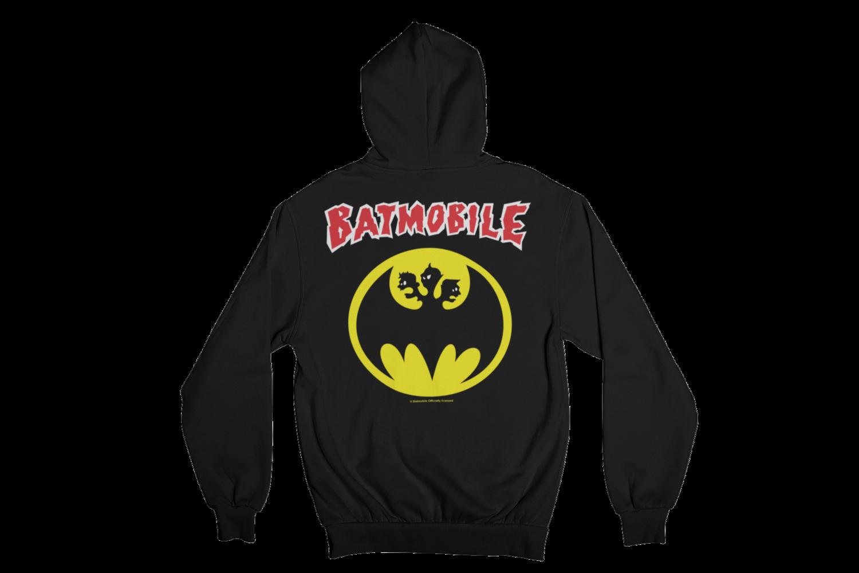 """BATMOBILE  """"BATMO LOGO"""" HOODIE ZIP for MEN"""