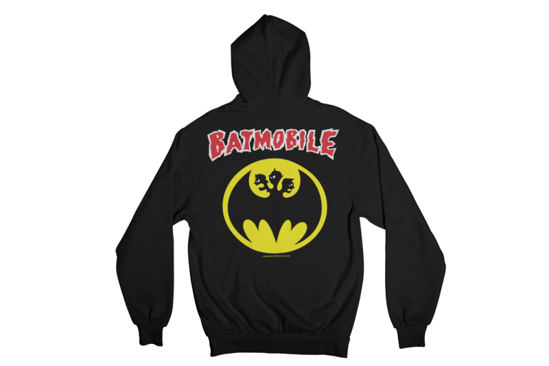 "BATMOBILE ""Batmo logo"" HOODIE ZIP for WOMEN"