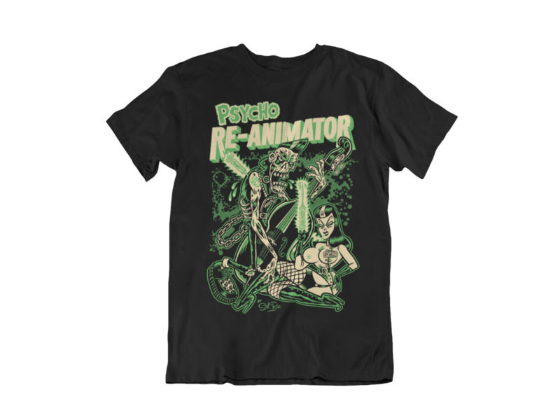 RE-ANIMATOR T-SHIRT MAN BY SOL RAC