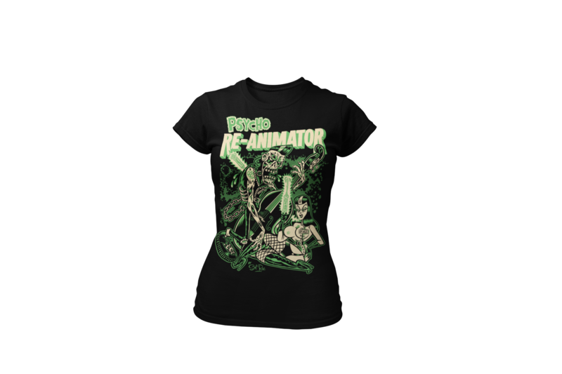 RE-ANIMATOR T-SHIRT WOMAN by SOL RAC