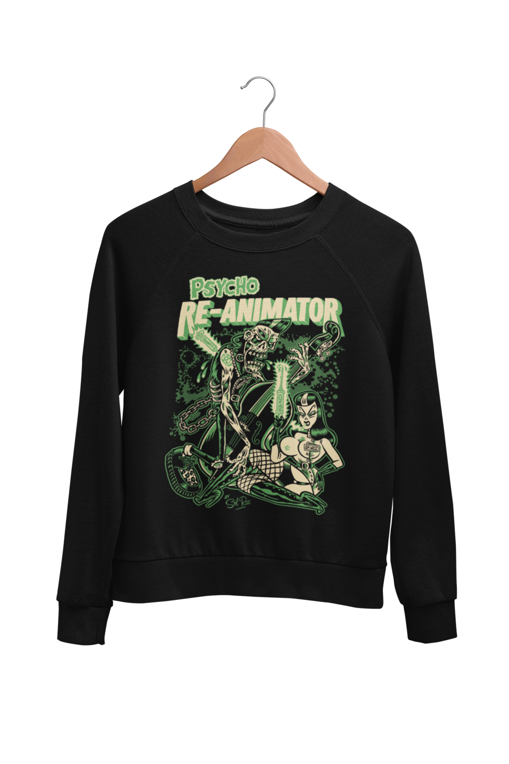 RE-ANIMATOR SWEATSHIRT UNISEX by BY SOL RAC