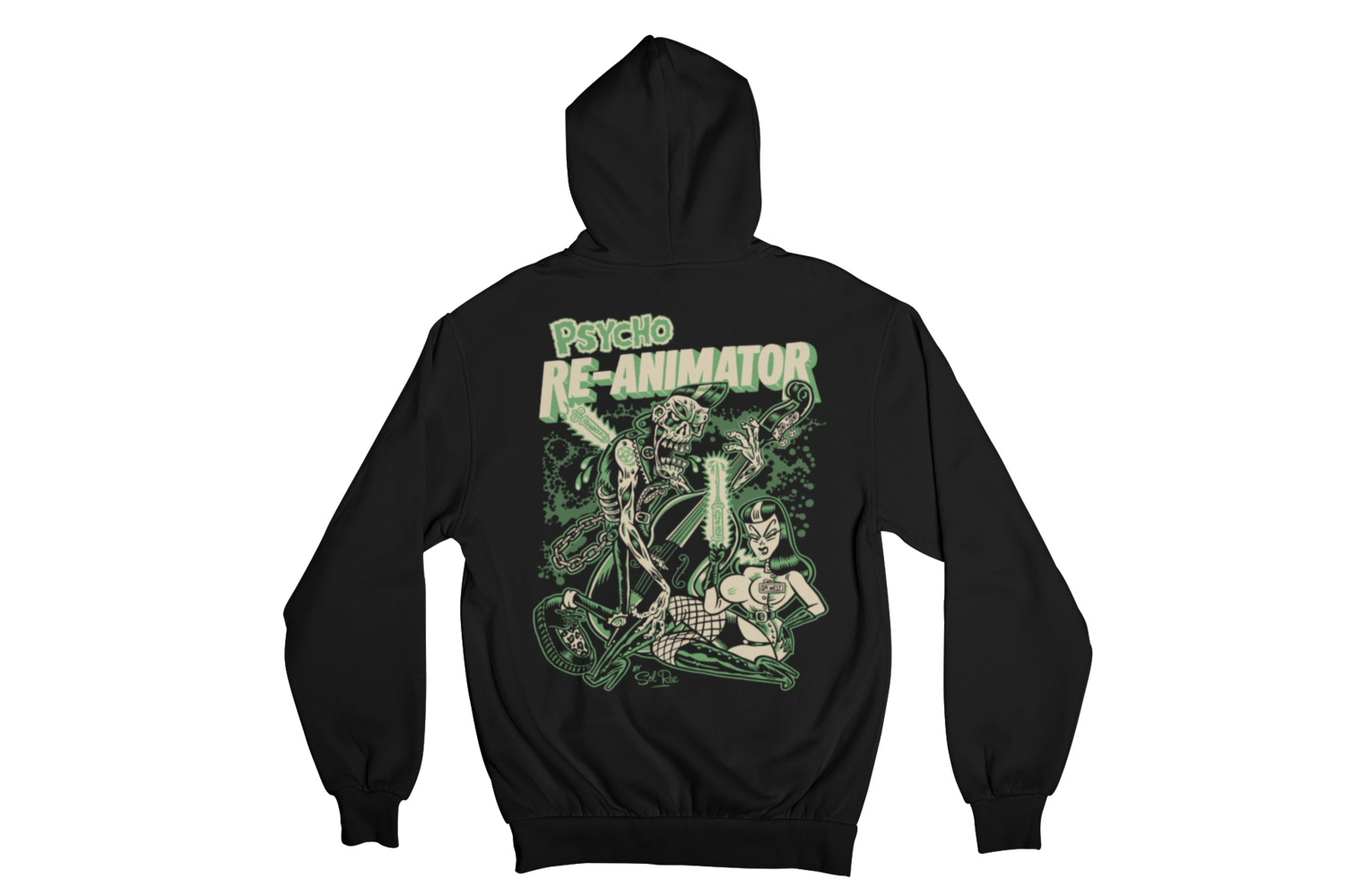 RE-ANIMATOR HOODIE ZIP for WOMEN by SOL RAC