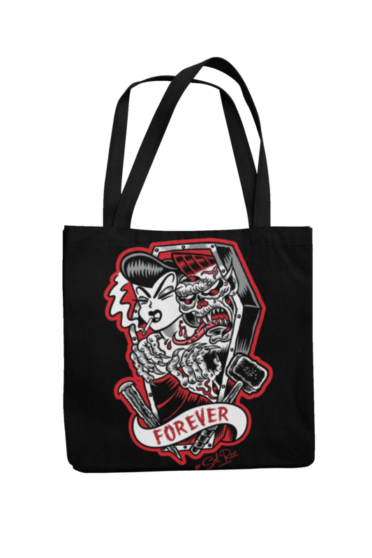FOREVER Cotton Bag  logo design SOL RAC