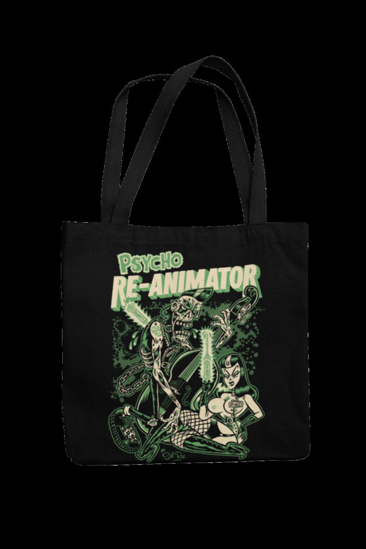 RE-ANIMATOR Cotton Bag  logo design SOL RAC