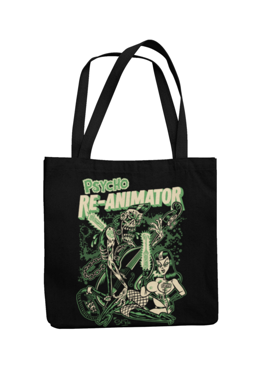 RE-ANIMATOR Cotton Bag  logo design SOL RAC