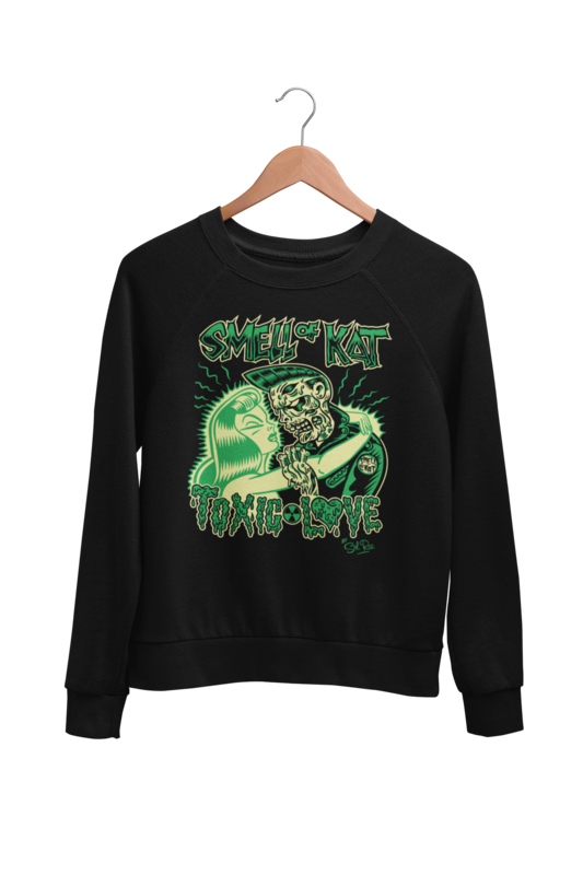 "SMELL OF KAT ""TOXIC LOVE"" SWEATSHIRT"