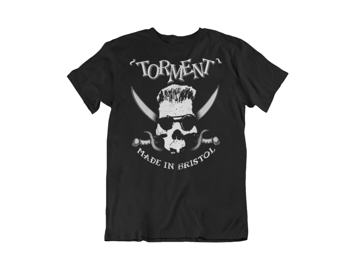 "TORMENT ""Made in Bristol"" tshirt for MEN"