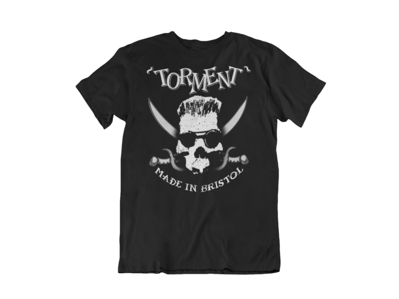 """TORMENT """"Made in Bristol"""" tshirt for MEN"""