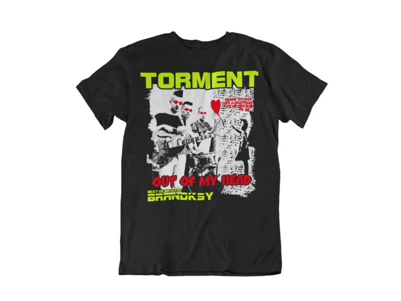 "TORMENT ""Out of my head"" tshirt for MEN"