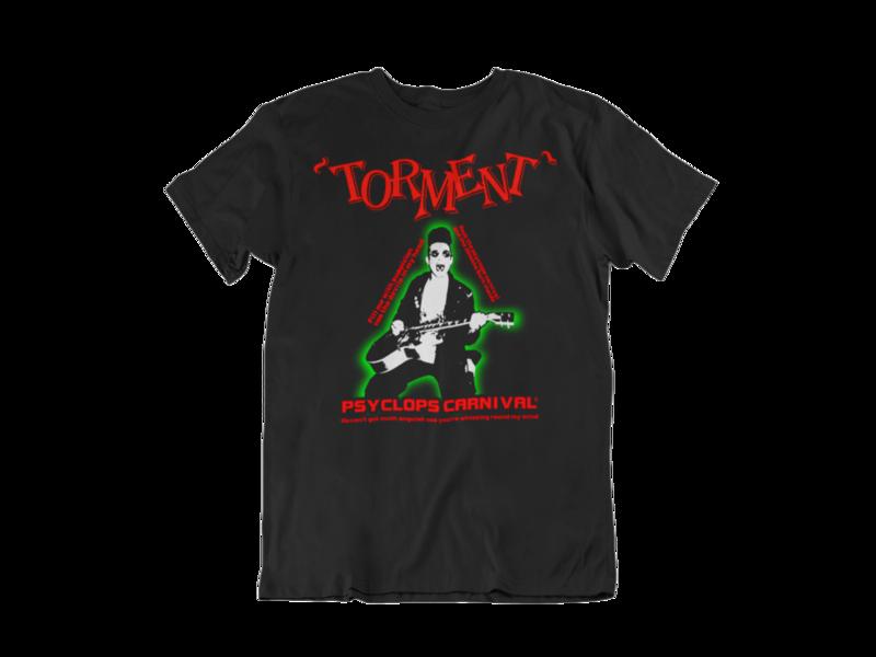 "TORMENT ""Psyclops Carnival""  tshirt for MEN"