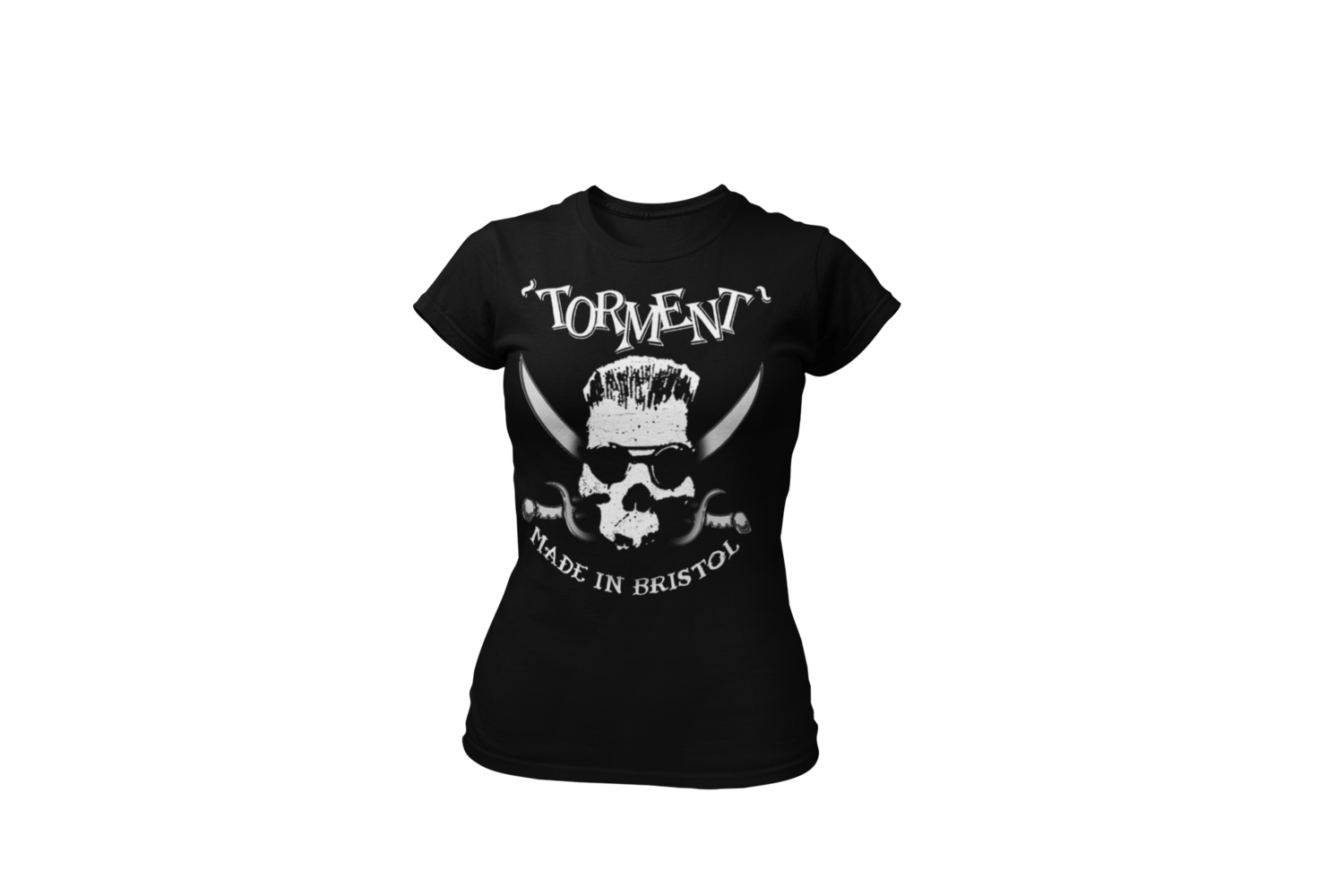 """TORMENT """"Made in Bristol"""" tshirt for WOMEN"""