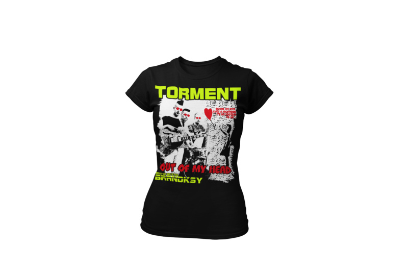 "TORMENT ""Out of my head"" tshirt for WOMEN"