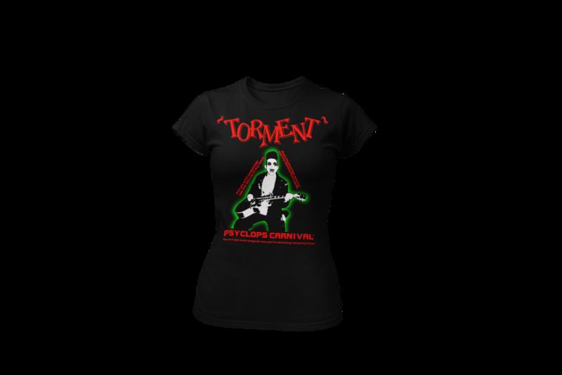 "TORMENT ""Psyclops Carnival"" tshirt for WOMEN"