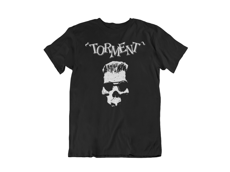 "TORMENT ""Old Skull"" tshirt for MEN"
