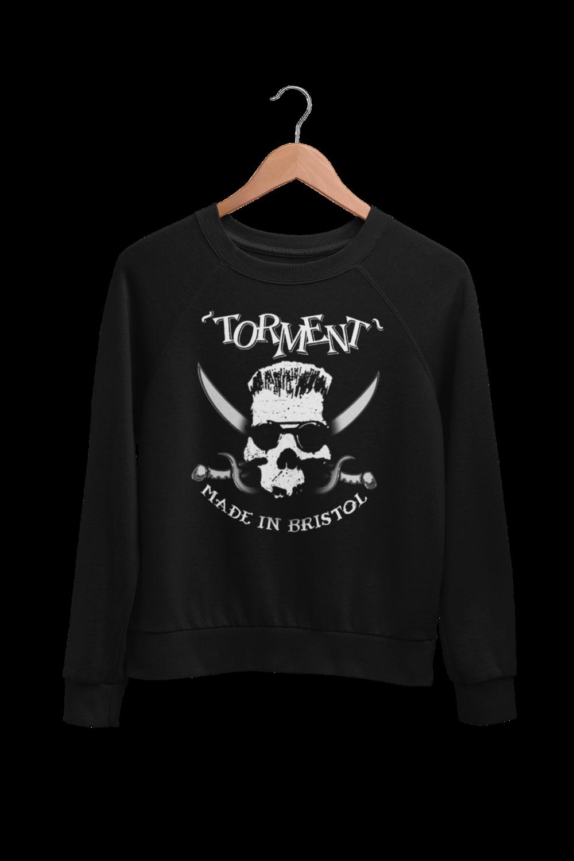 """TORMENT """"Made in Bristol"""" SWEATSHIRT UNISEX"""