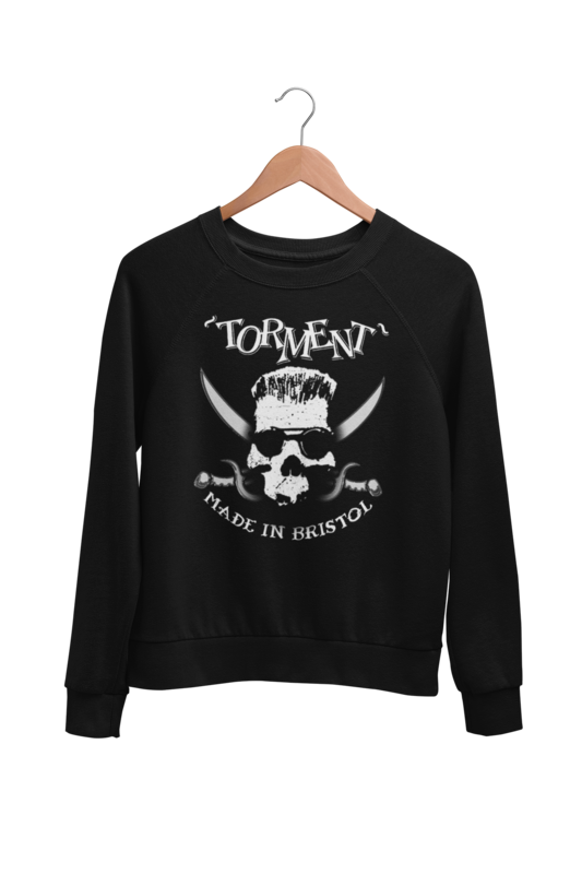 "TORMENT ""Made in Bristol"" SWEATSHIRT UNISEX"