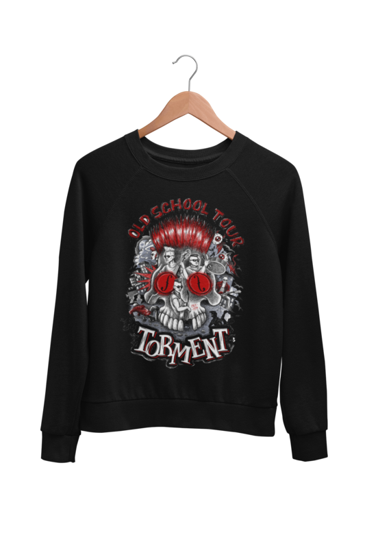 "TORMENT ""Old School Tour"" SWEATSHIRT UNISEX"