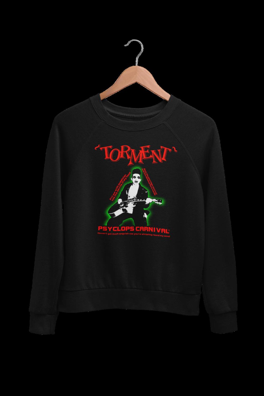 """TORMENT """"Psyclops Carnival"""" SWEATSHIRT UNISEX"""
