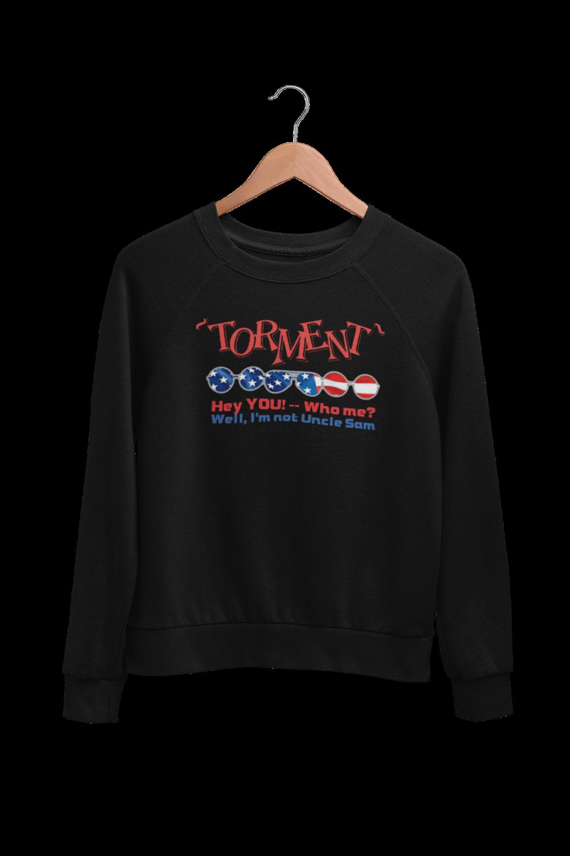 "TORMENT ""Uncle Sam"" SWEATSHIRT UNISEX"