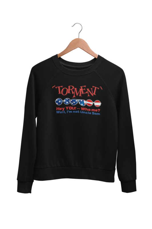 "TORMENT ""Uncle Sam"" SWEATSHIRT UNISEX"