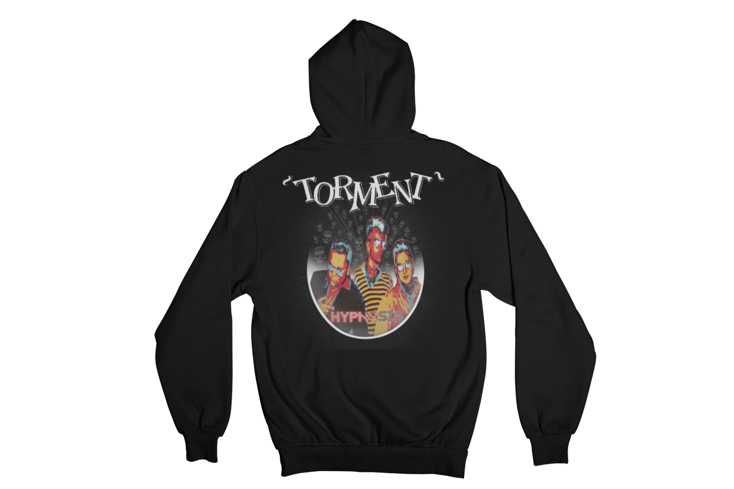 "TORMENT  ""HYPNOSIS"" HOODIE ZIP for MEN"