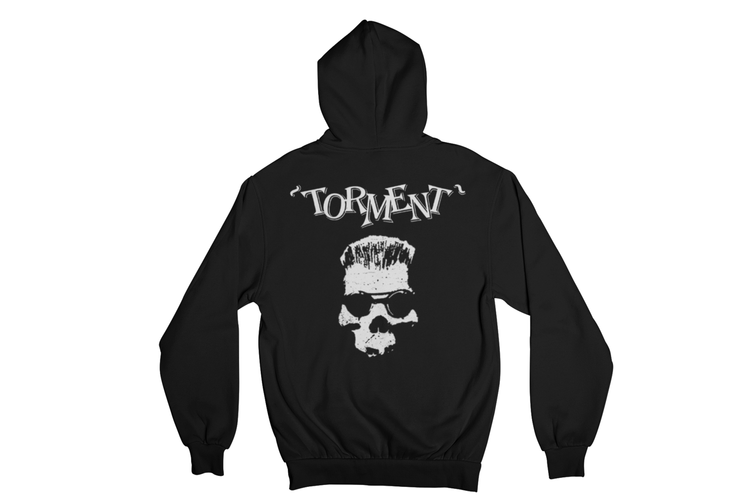 "TORMENT ""OLD SKULL"" HOODIE ZIP for MEN"