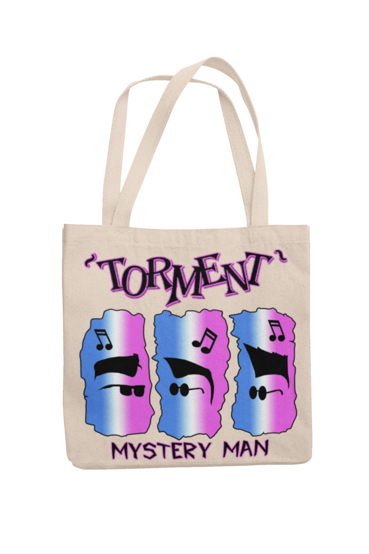 "TORMENT ""Mistery Man"" Cotton Bag"