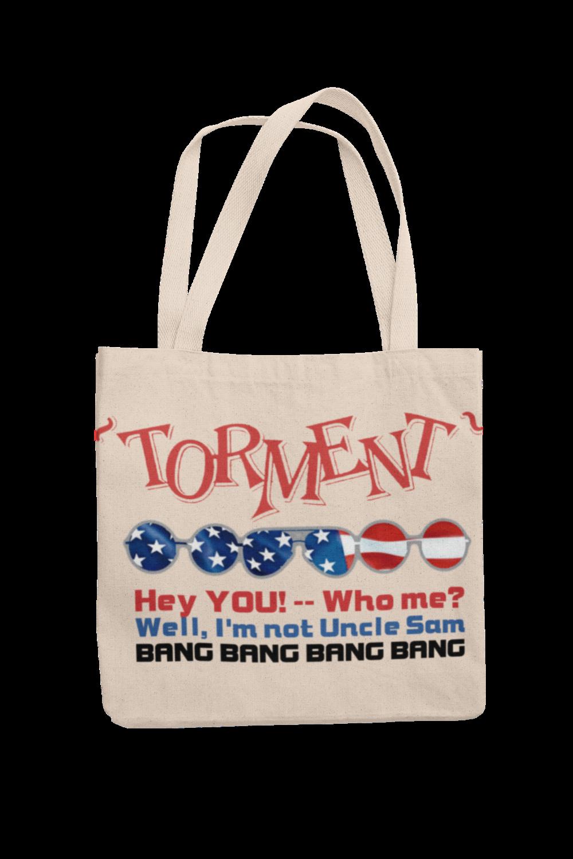 """TORMENT """"Uncle Sam"""" Cotton Bag"""