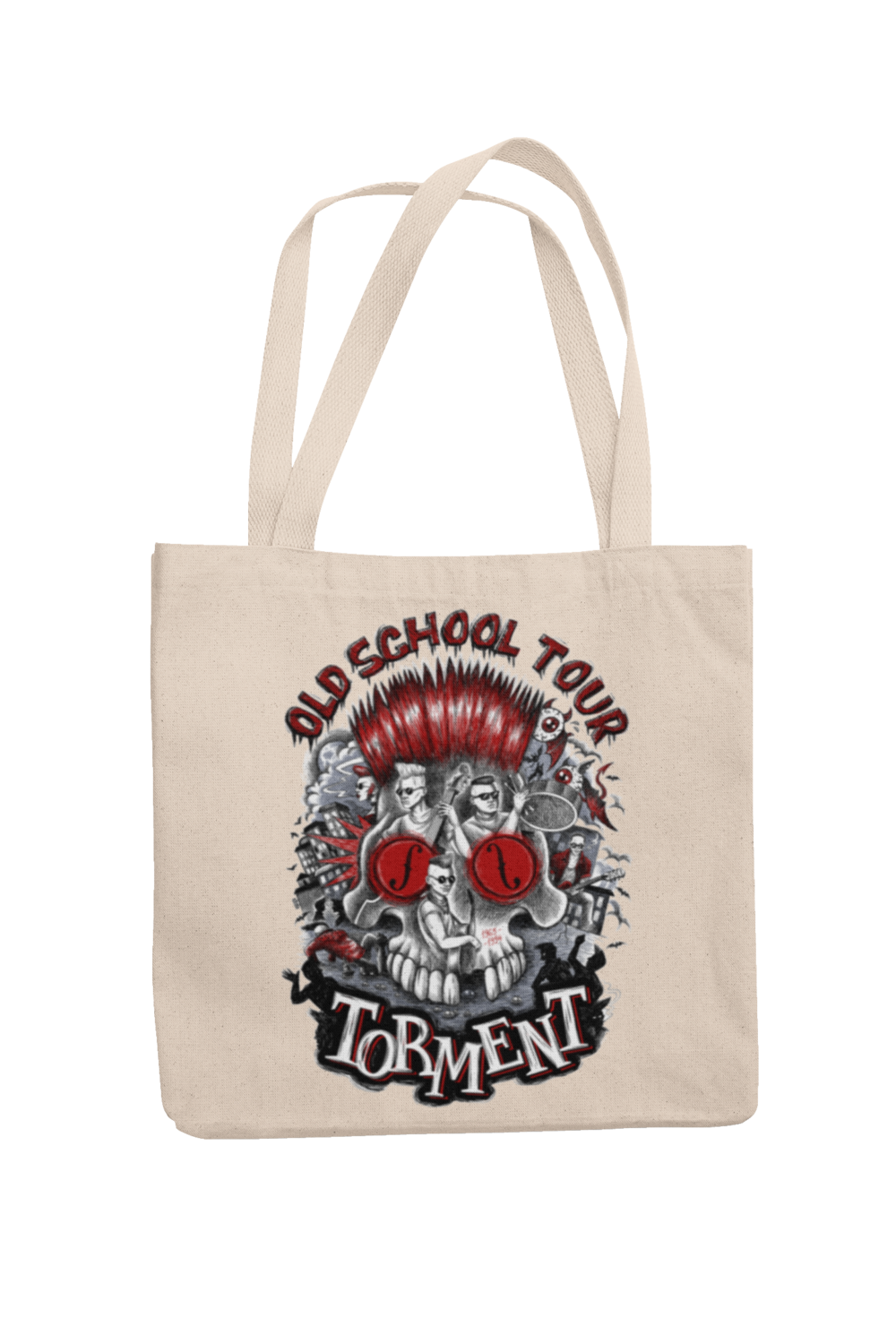 "TORMENT ""Old school tour"" Cotton Bag"