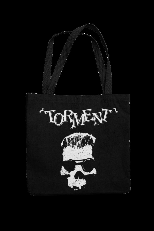 """TORMENT """"Old Skull"""" Cotton Bag"""