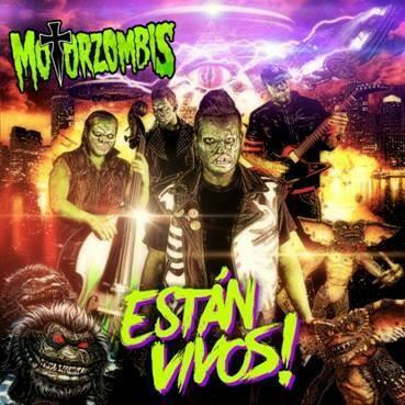 "MOTORZOMBIS ""Están Vivos"" LP"