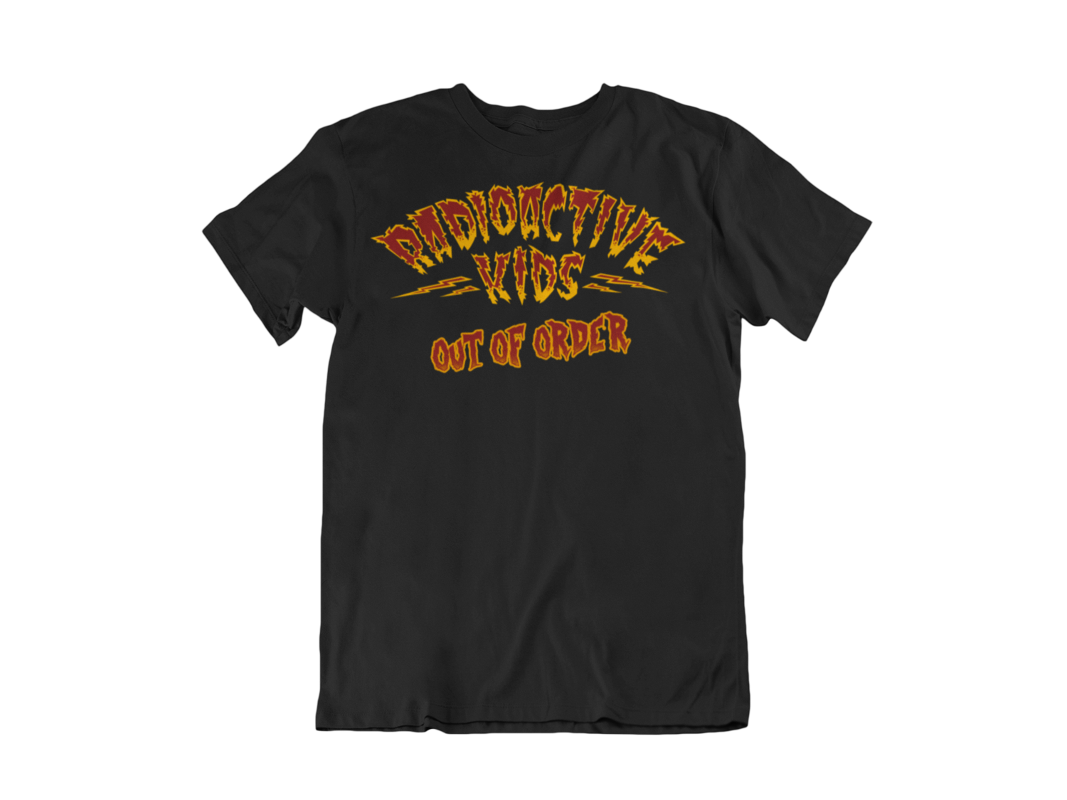 """RADIOACTIVE KIDS """"Out of Order""""  tshirt for MAN"""