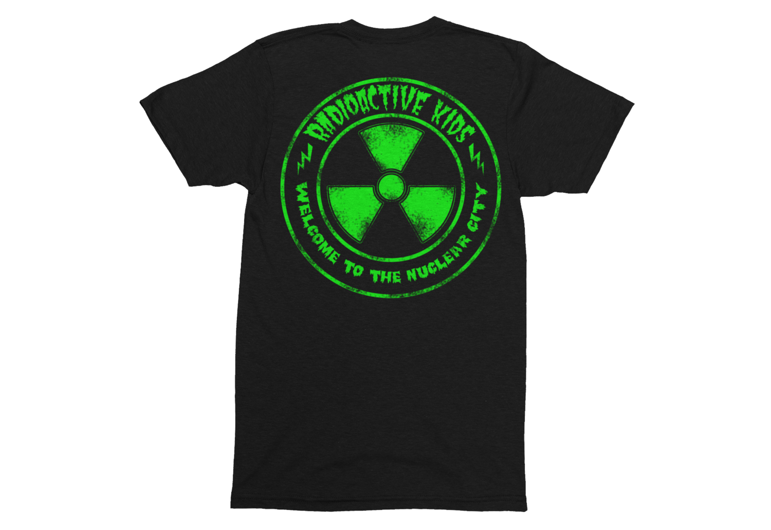 "RADIOACTIVE KIDS ""Nuclear City""  tshirt for MAN"