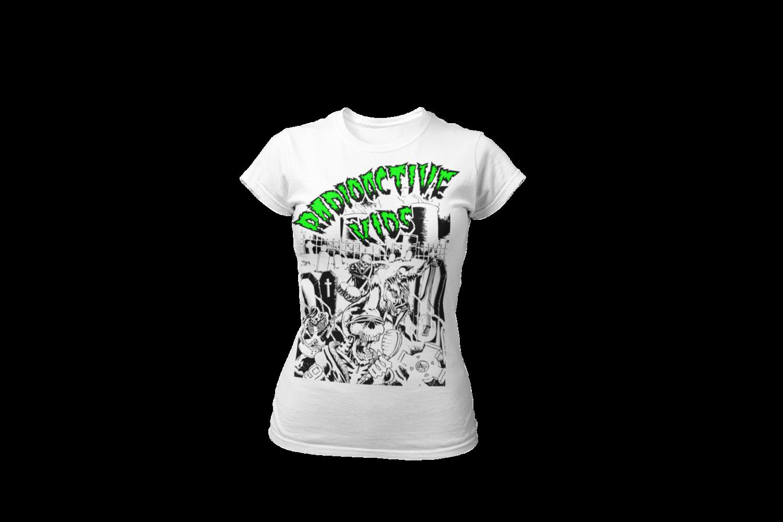 "RADIOACTIVE KIDS ""Radioactive Kids""  tshirt for WOMAN"