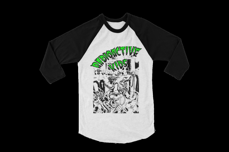 "RADIOACTIVE KIDS ""Radioactive Kids"" BASEBALL LONG SLEEVE  UNISEX"