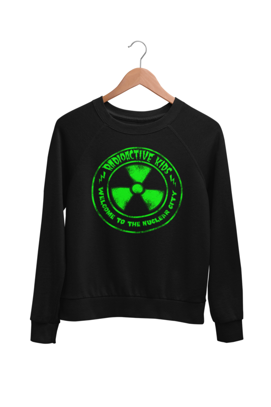 "RADIOACTIVE KIDS ""NUCLEAR CITY"" SWEATSHIRT"