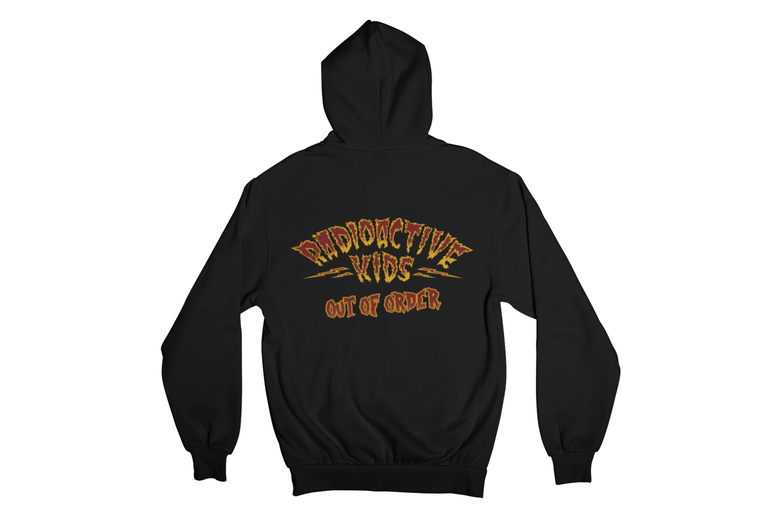 "RADIOACTIVE KIDS ""OUT OF ORDER""  HOODIE ZIP for WOMEN"