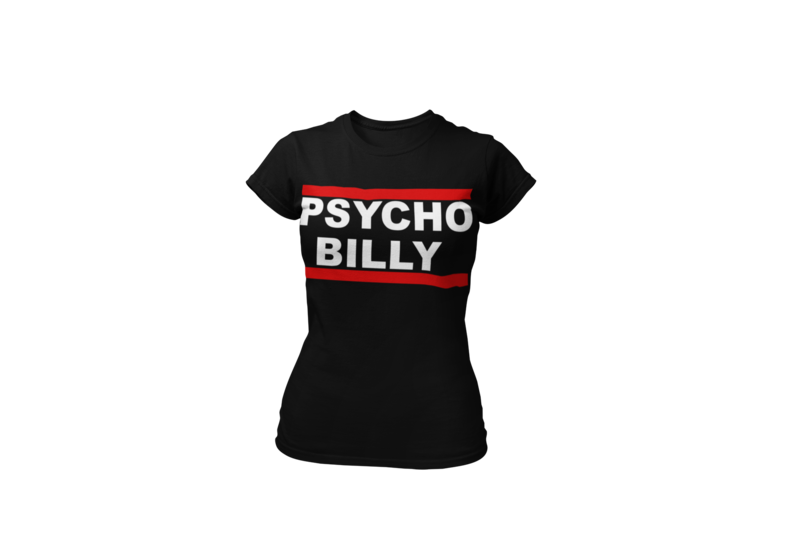 PSYCHOBILLY DMC T-SHIRT FOR WOMEN
