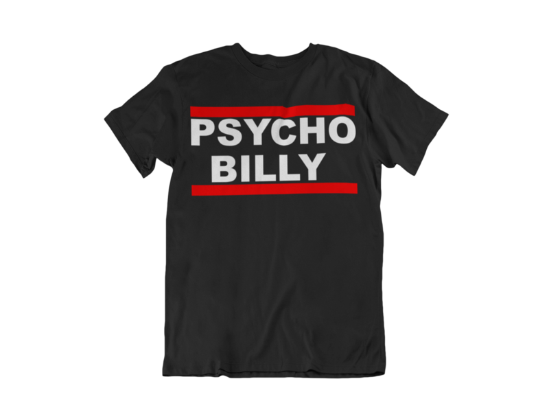 PSYCHOBILLY DMC TSHIRT MAN