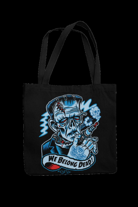 WE BELONG DEAD Cotton Bag  logo design SOL RAC