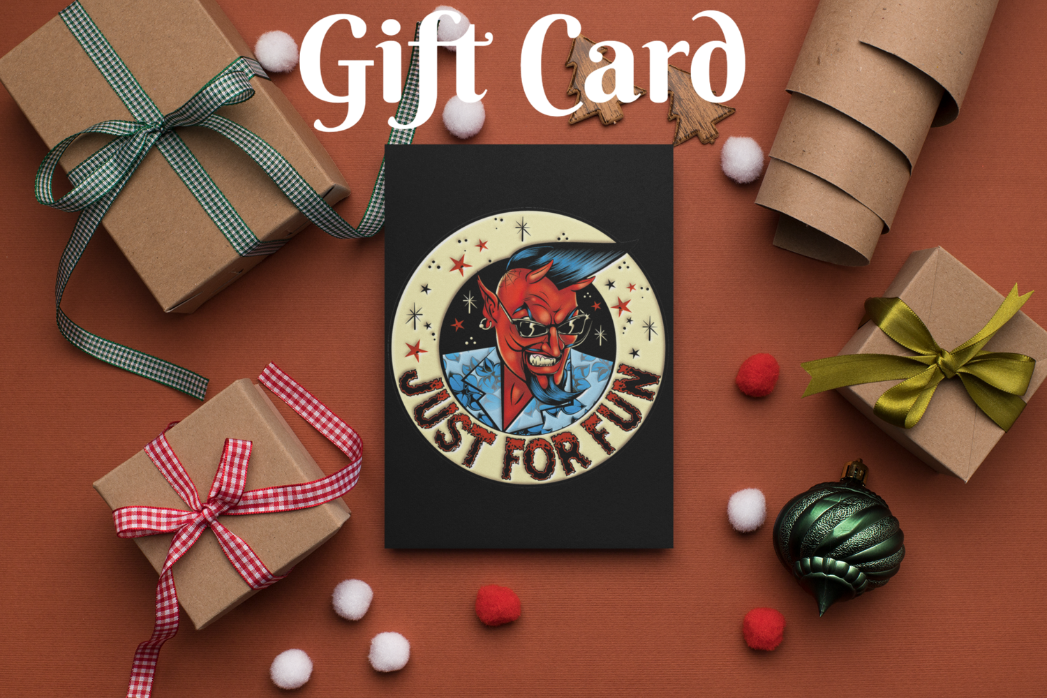 Just for fun store Gift card