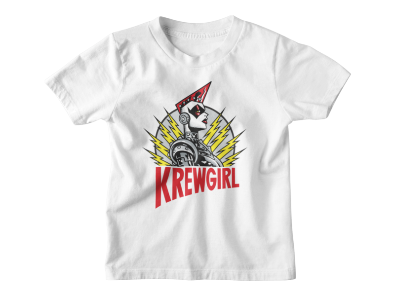 KREWGIRL LOGO T-SHIRT KIDS